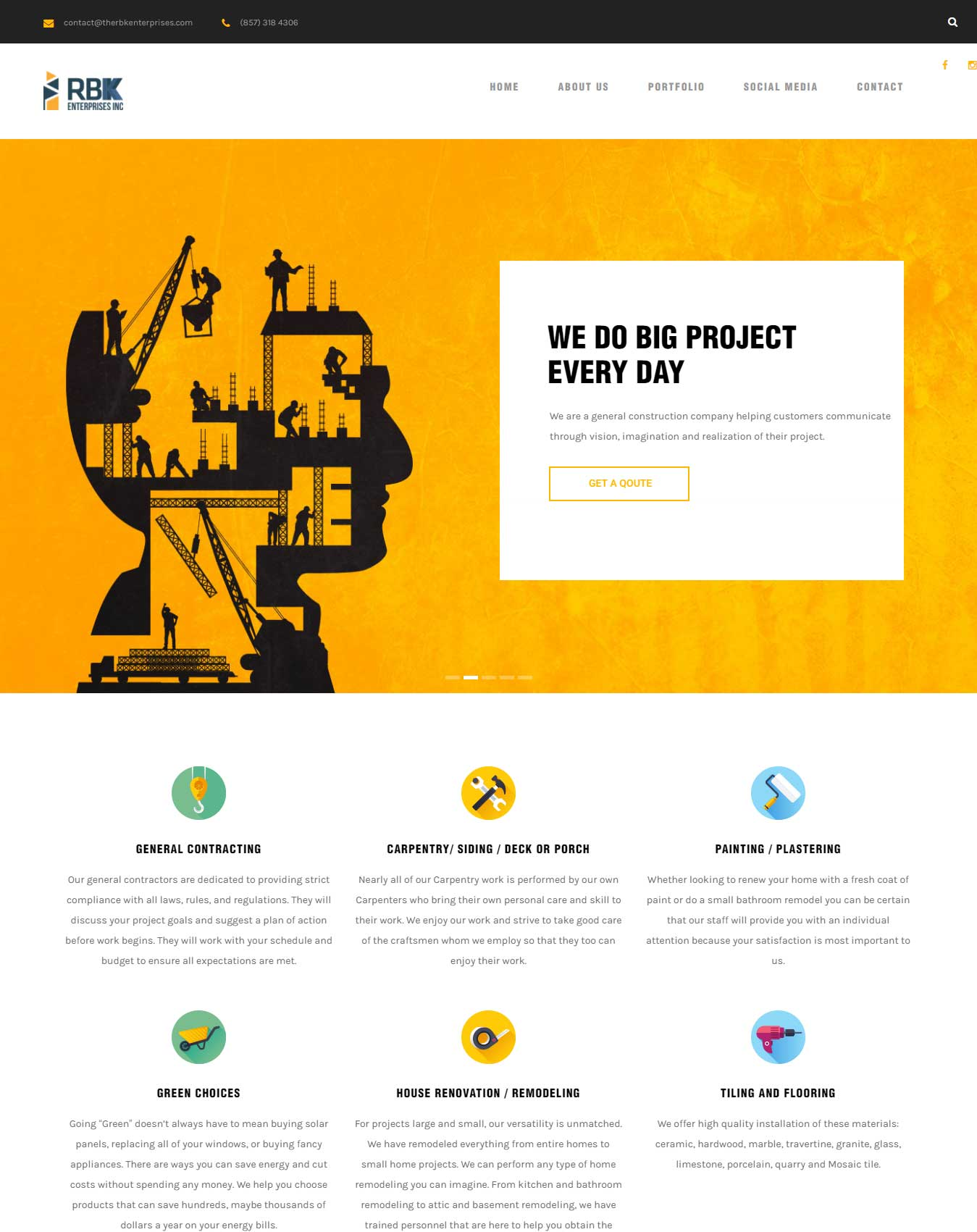 website the rbk enterprises