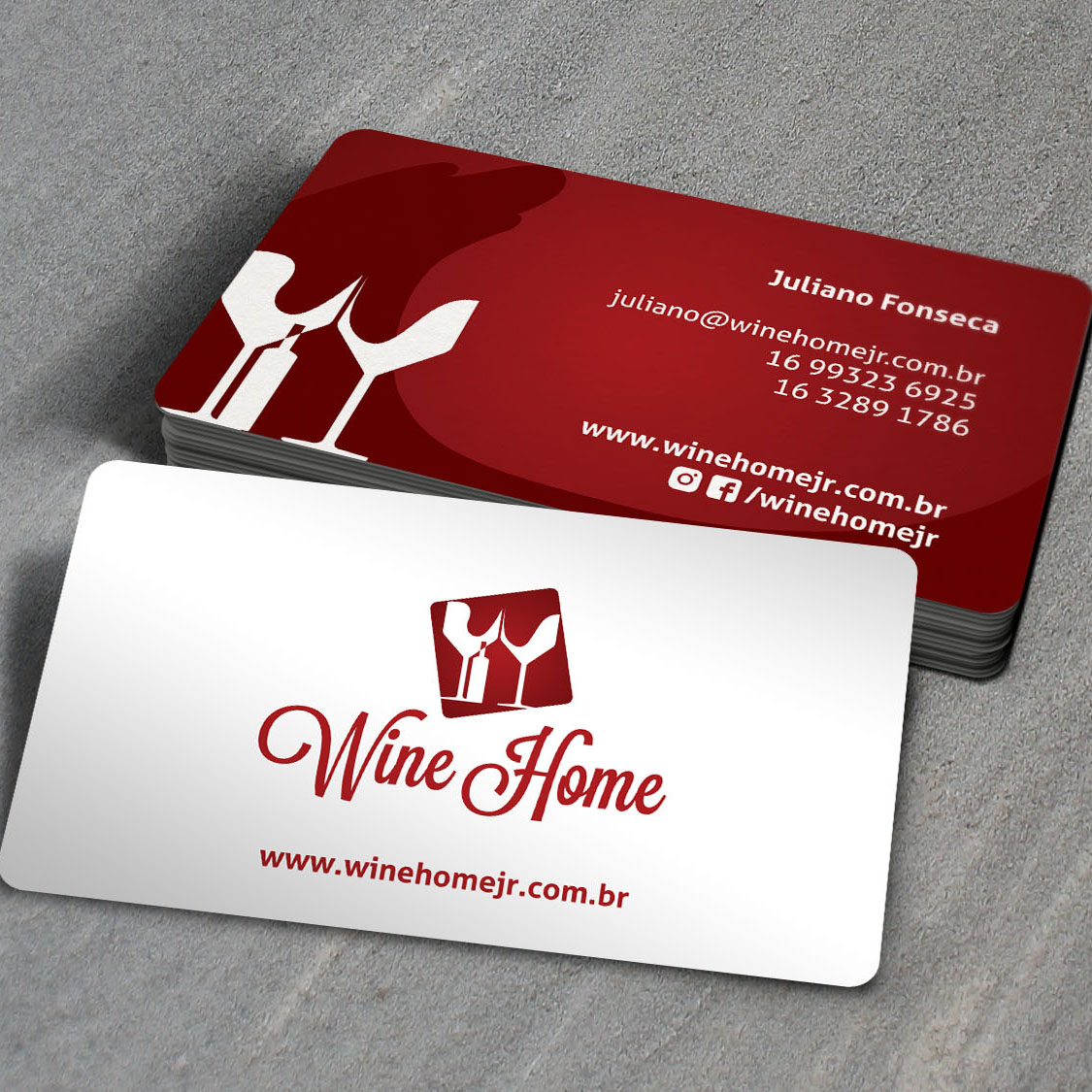 Identidade Corporativa - Wine Home
